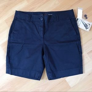 Nautica Women's Blue Cotton Shorts